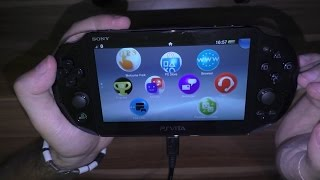 Download Video PS Vita (Slim) PCH-2016 Wifi  (Looney Tunes Galactic Sports Pack) Unboxing MP3 3GP MP4