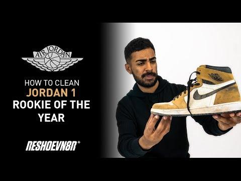 ¡Cómo limpiar a Air Jordan 1 Rookie of the Year en español con Reshoevn8r y con Vick Almighty!