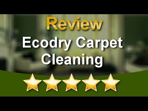 Ecodry Carpet Cleaning Las Vegas (702) 292-4252 Perfect Five Star Review by Anthony G.