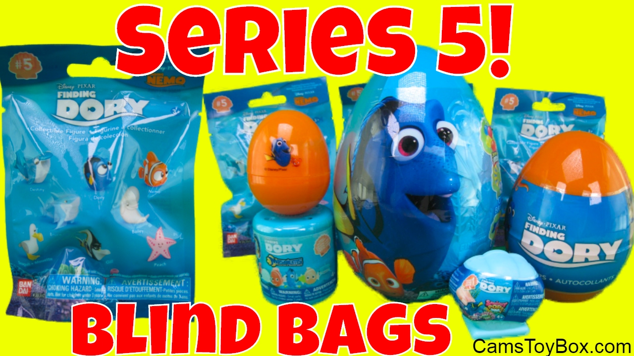 Squishy Pops Blind Bags : Finding Dory Blind Bags Series 5 Mashems 2 Squishy Pops Plastic Easter Eggs Surprises Toys Fun ...
