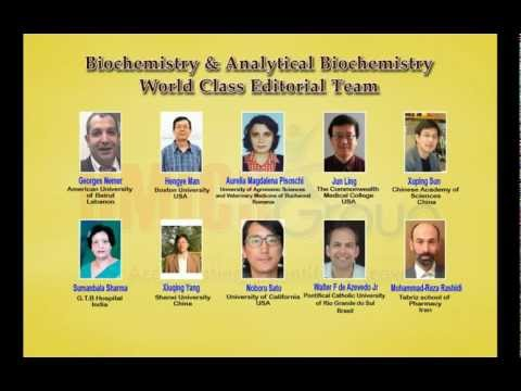 Biochemistry & Analytical Biochemistry Journals | OMICS Publishing Group