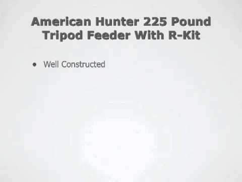 American Hunter 225 Feeder Youtube