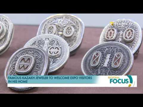 Famous Kazakh jeweler to welcome EXPO visitors in his home