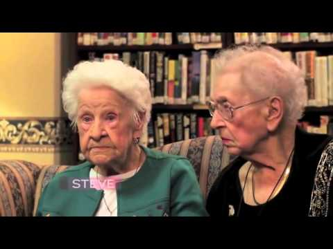 100 Year Old Best Friends Hilarious Take on Our World   Cute Videos
