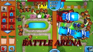 Intense BTD Battles Arena Gameplay!