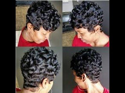 Best Diy Short Hairstyles For Black Women Youtube