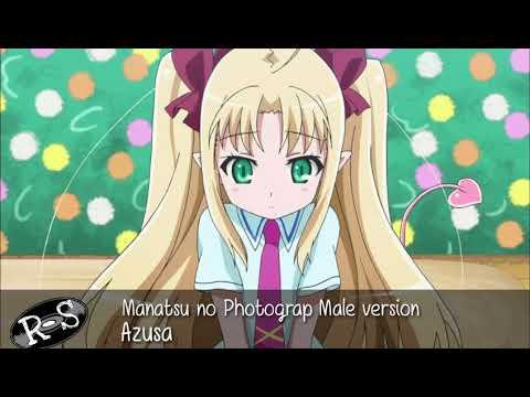 Azusa - Manatsu no Photograph male Version
