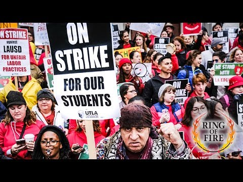 L.A. Teachers Go on Strike to DEMAND More Funding
