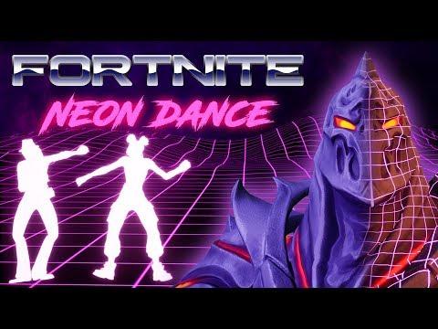 🎮 Fortnite Neon Dance #2. Electro Swing Emote