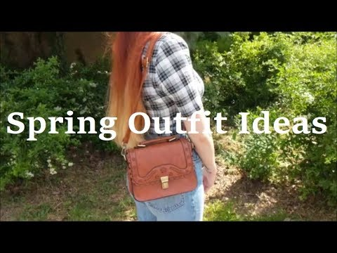 3 Spring Outfit Ideas (Vintage, 60's Vibes, Grunge) - LOOKBOOK 2019 7