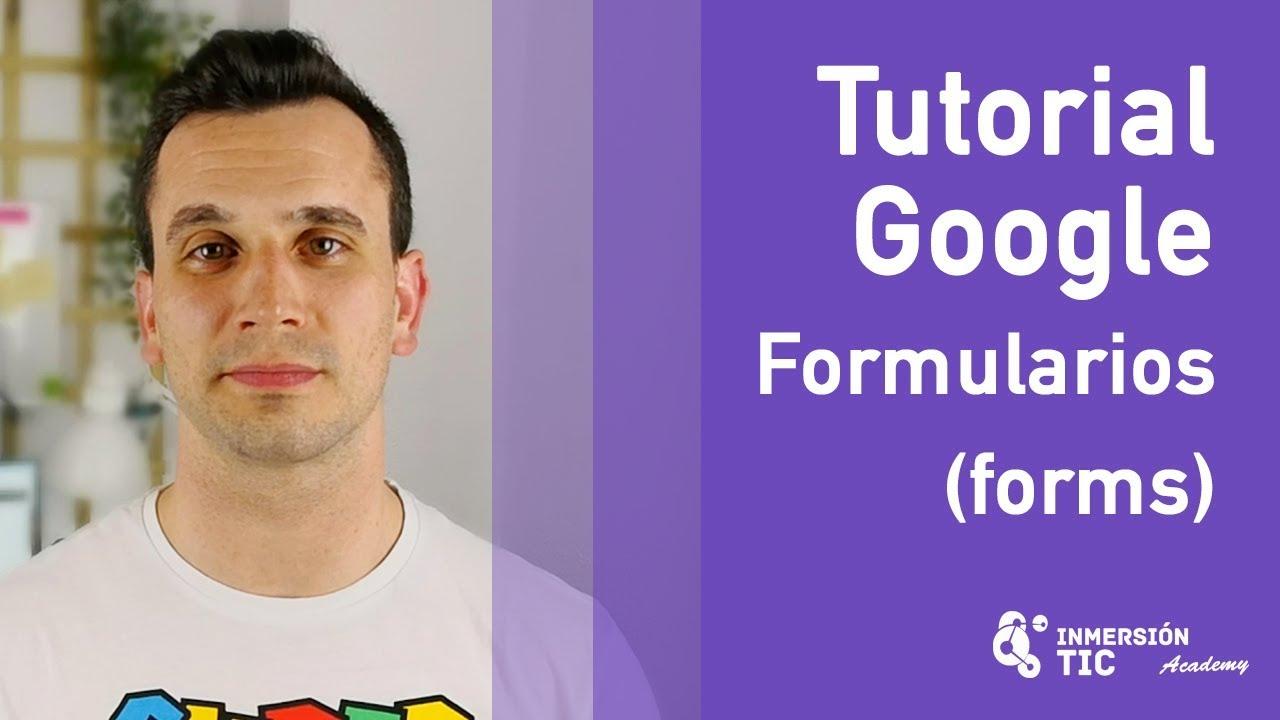 Tutorial Google FORMULARIOS (Forms) –  Com…