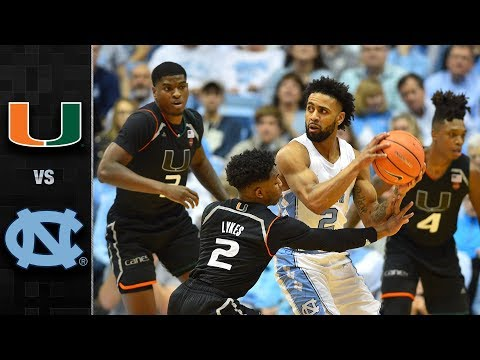 miami-vs.-north-carolina-basketball-highlights-(2017-18)
