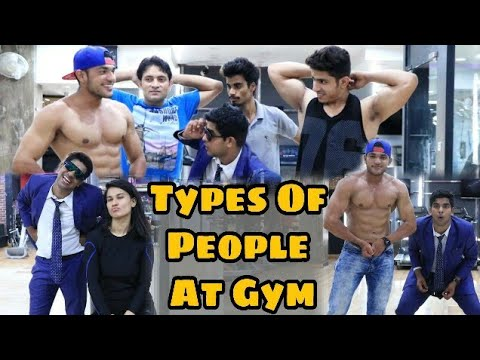TYPES OF PEOPLE AT GYM  Feat PARDEEP KHERA  YOGESH KATHURIA