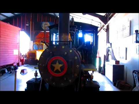 9/9/17 Trains during the Railroadiana Swapmeet at Southern California Railway Museum