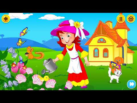 Mary Mary quite contrary kidloland childrends games