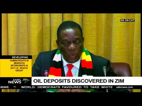 Oil deposits discovered in Zim