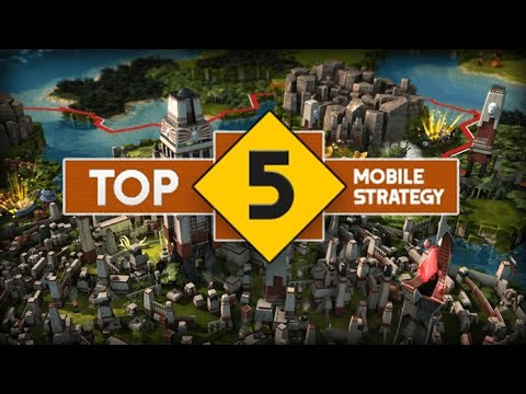 Top 5 Mobile Strategy Games|gaming Guru