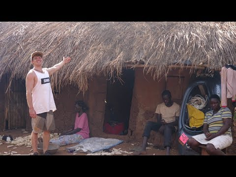 Living in an african village!