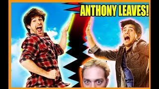 Anthony Leaves Smosh - Lasercorn Reacts