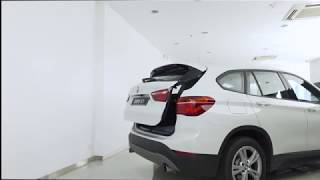 BMW 4 Series Gran Coupé - Tailgate Opening Height Adjustment