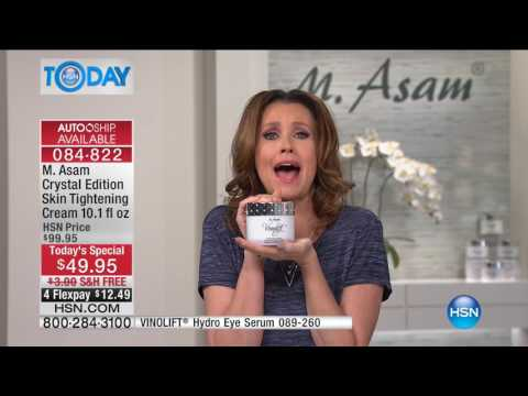 HSN | HSN Today: M. Asam Beauty / Temptu Airbrush Makeup 06.06.2017 - 08 AM