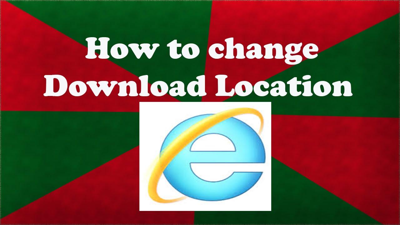 internet explorer location