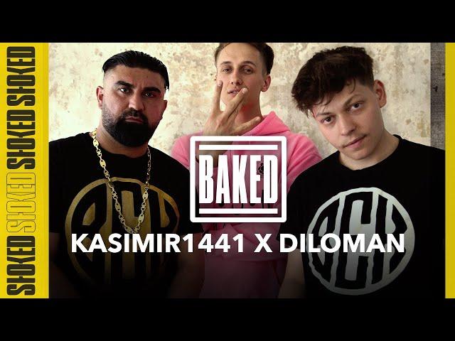 Kasimir1441 & Diloman über BEK, 6ix9ine, Aggro Berlin, Filme, Eminem & Erfolg   BAKED w/ Marvin Game
