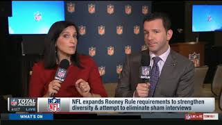 NFL expands Rooney Rule requirements to strengthen diversity & attempt to eliminate sham interviews