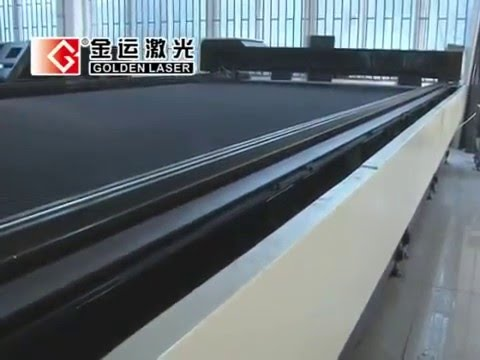 Laser Flat Bed for PP Fabric/PVC Coated Fabric/Tent Cutting Machine