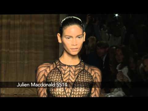 Julien Macdonald London Fashion Week show: Julien Macdonald SS14 Collection