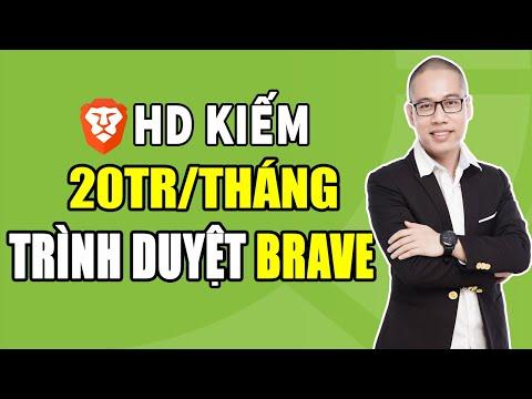 Cách Kiếm Tiền Trên điện Thoại Với Trình Duyệt Brave (20 Triệu / Tháng) - Lướt Web Kiếm Tiền