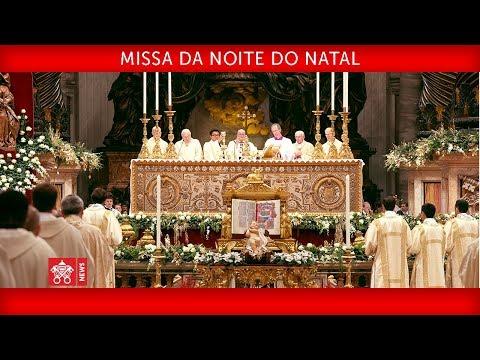 Papa Francisco Santa Missa da Noite do Natal 2017-12-24