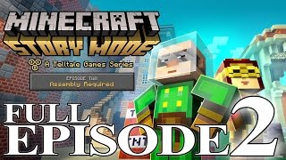 Minecraft: Story Mode - Full Episode 2: Assembly Required Walkthrough 60FPS HD [No Commentary]