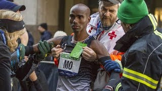 First Mo Farah's LOSS at New York Half Marathon 2014
