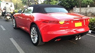 Jaguar F-type in INDIA (HYDERABAD)