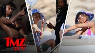 Gambar cover Cardi B and Offset Together on a Yacht in Mexico | TMZ TV