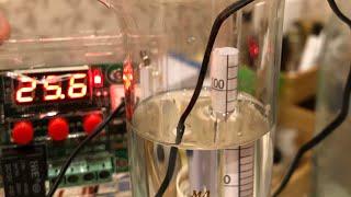 Ректификация чистого спирта 96,6% в домашних условиях на колонне с СПН.