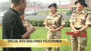 Walk the Talk with Naga armed policewomen