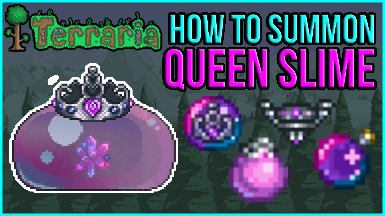 Terraria Queen Slime