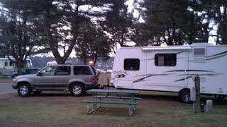 Girl living in a small RV Travel Trailer!  Tour of the inside