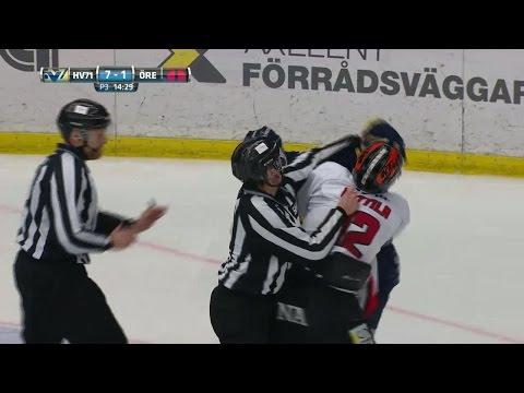 Vilt slagsmål - Antilla får matchstraff  - TV4 Sport