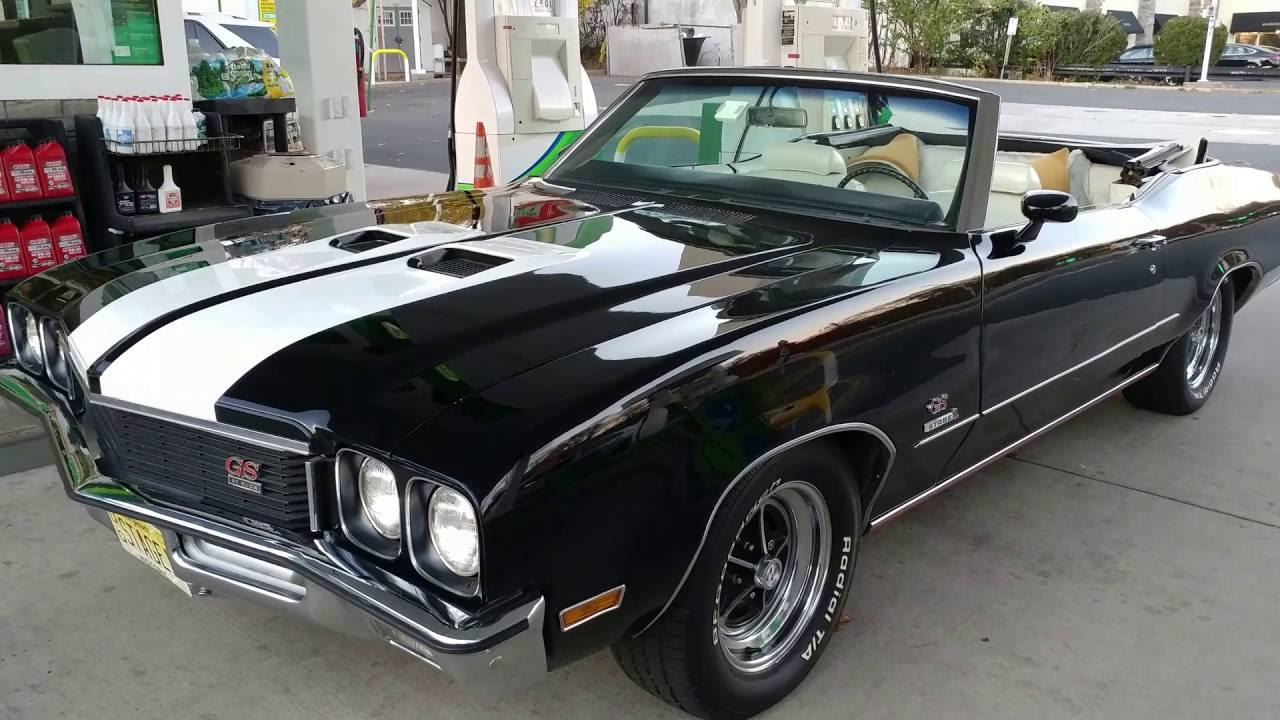 1972 BUICK GS CONVERTIBLE 455 STAGE 1 - 1 of 81 - YouTube