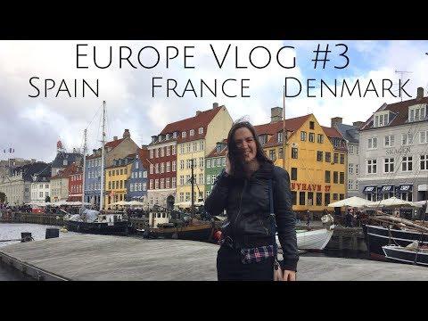 Europe Vlog #3: October (Spain, France, Denmark)