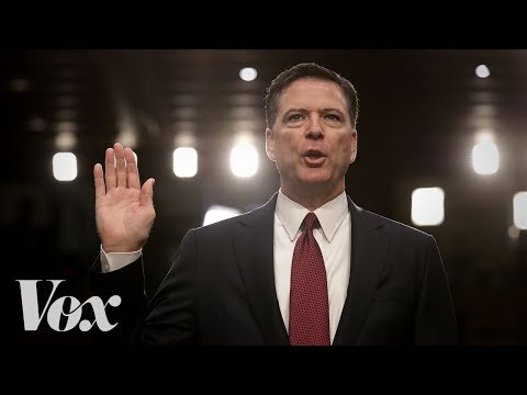 Former FBI Director James Comey testifies before Congress (F
