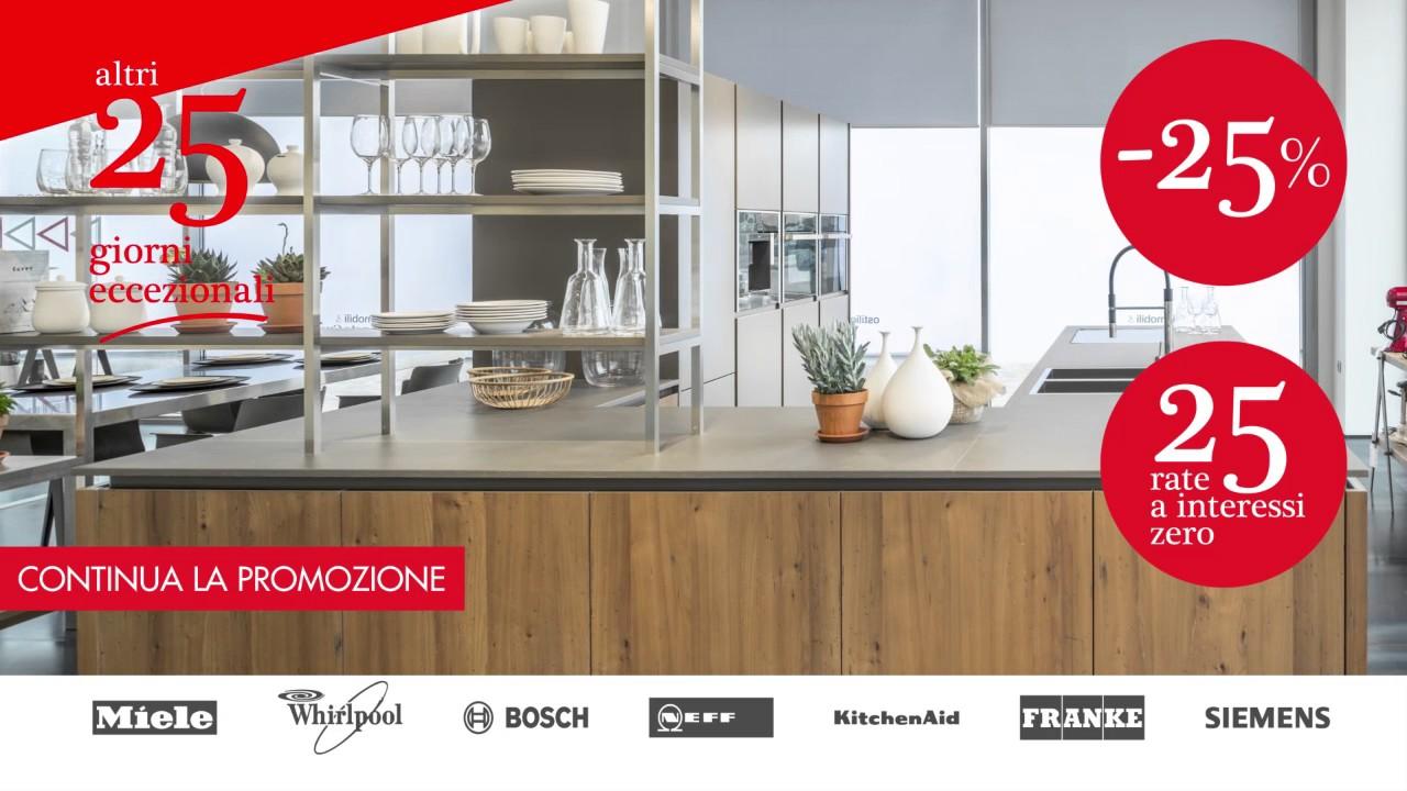 Ostilio Mobili & Veneta Cucine Brescia altri 25 giorni eccezionali