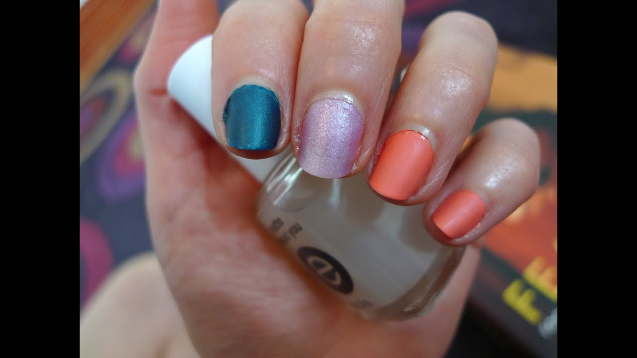 REVIEW: Essie Matte Topcoat - YouTube