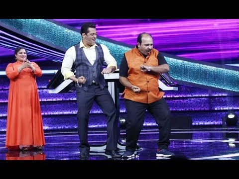 Dus Ka Dum: Salman Khan DANCES With THE FAMOUS DANCING UNCLE!