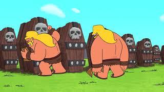 [Clash-A-Rama] Rocky dan Herk: Pejuang Heroik Orang Barbar