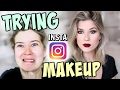 TRYING INSTAGRAM MAKEUP