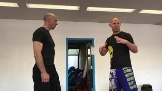 Defending vs Combinations, with Amnon Darsa at Expert Camp at Institute Krav Maga Netherlands.